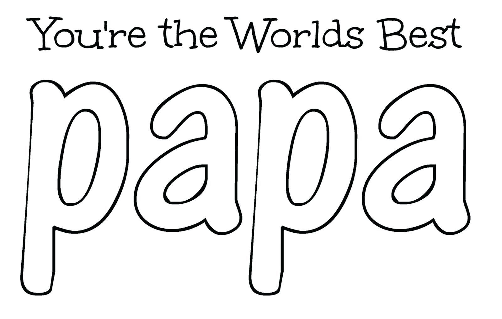Happy Birthday Grandpa Coloring Pages Papa Best Book For Happy