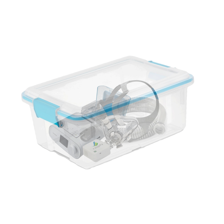 Respify 2 0 Cpap Cleaner Sanitizer Deluxe Package In 2020 Cpap Cpap Cleaning Cpap Machine Storage