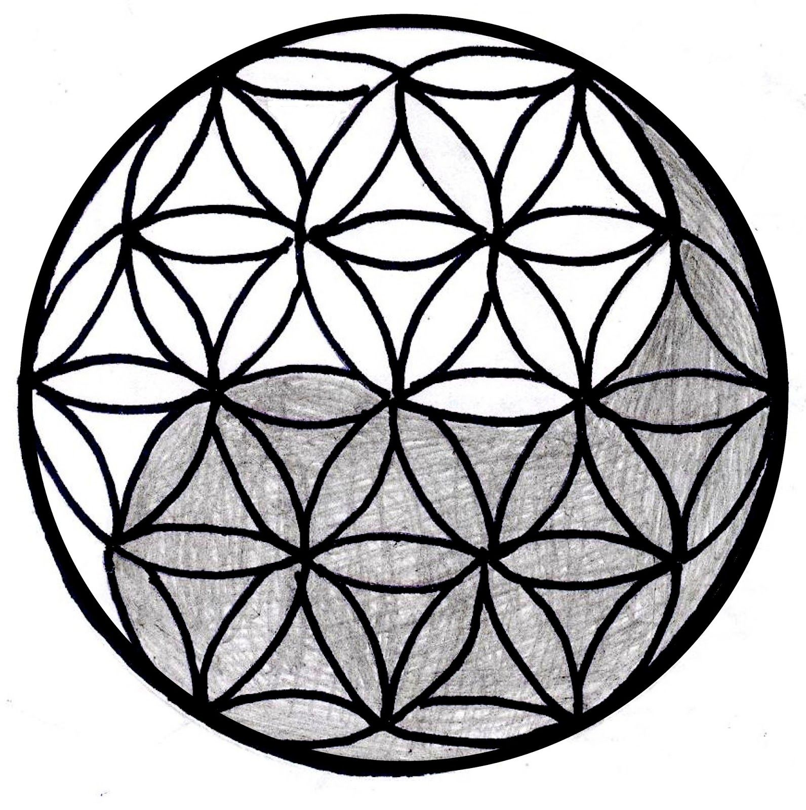 masonic art deciphered page 1 sacred geometry pinterest rh pinterest com Flower of Life Meaning Yin and Yang Wolf