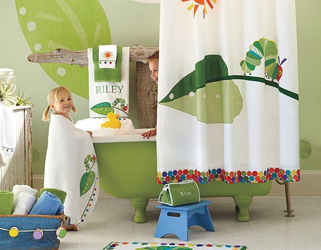 I Love The Pottery Barn Kids The Very Hungry Caterpillar Bathroom