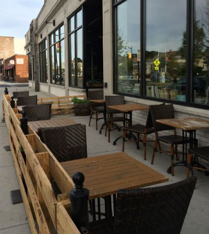 Restaurant patio fence  Related image | Breweries restaurants n' more | Pinterest | Brewery ...