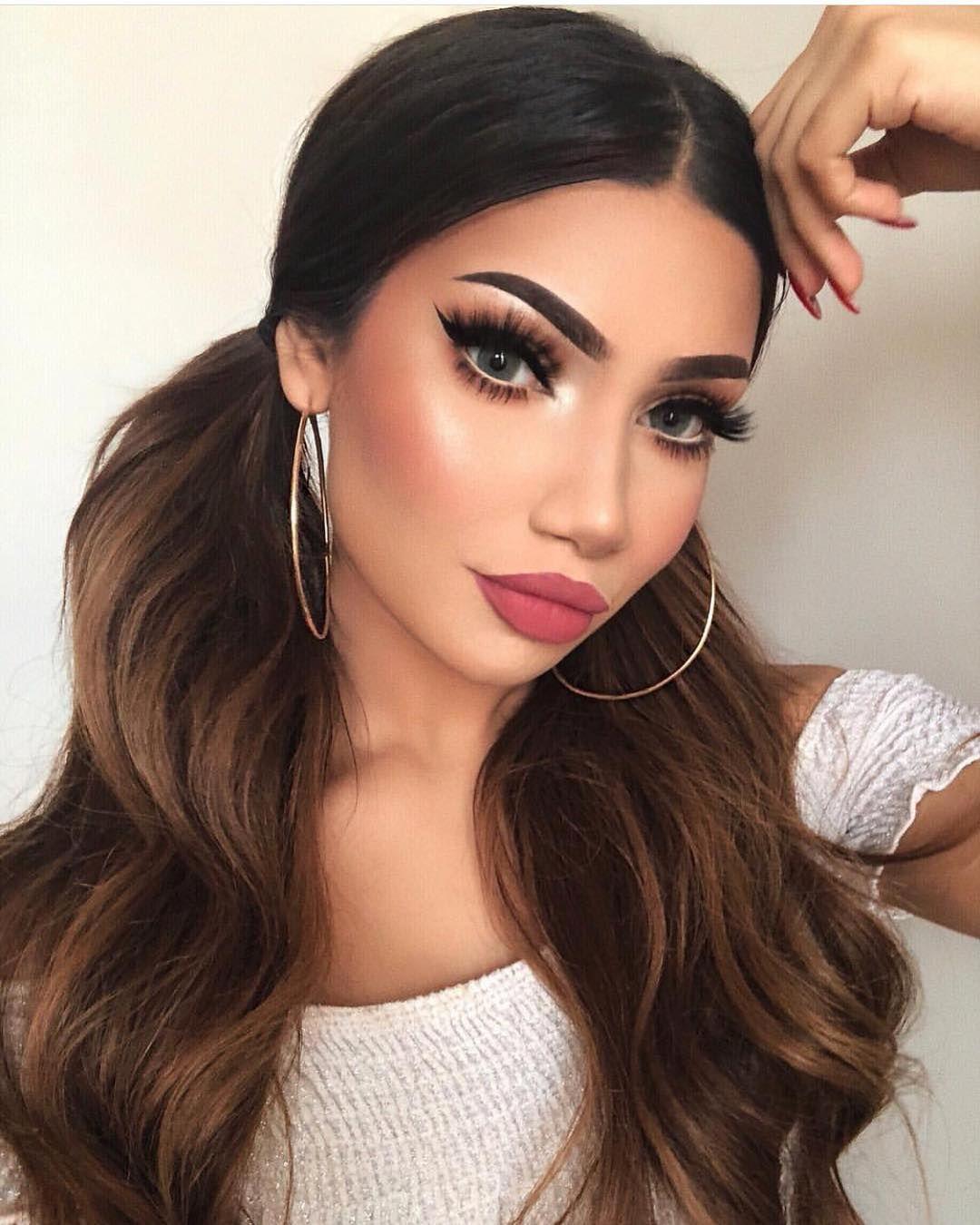 "Beauty & Makeup Goals ♚ on Instagram ""makeupbyalinna"