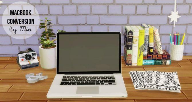 MacBook Conversion at MIO via Sims 4 Updates