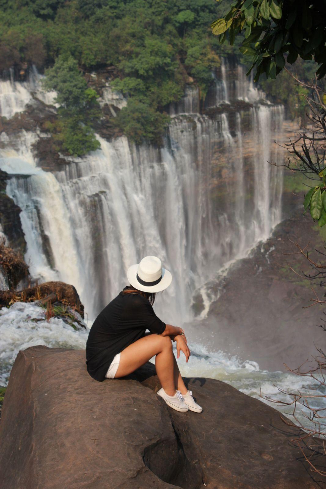 Angola Africa Waterfall Quedas De Kalandula Kalendula Kalandula Angola Africa Africa Travel Angola
