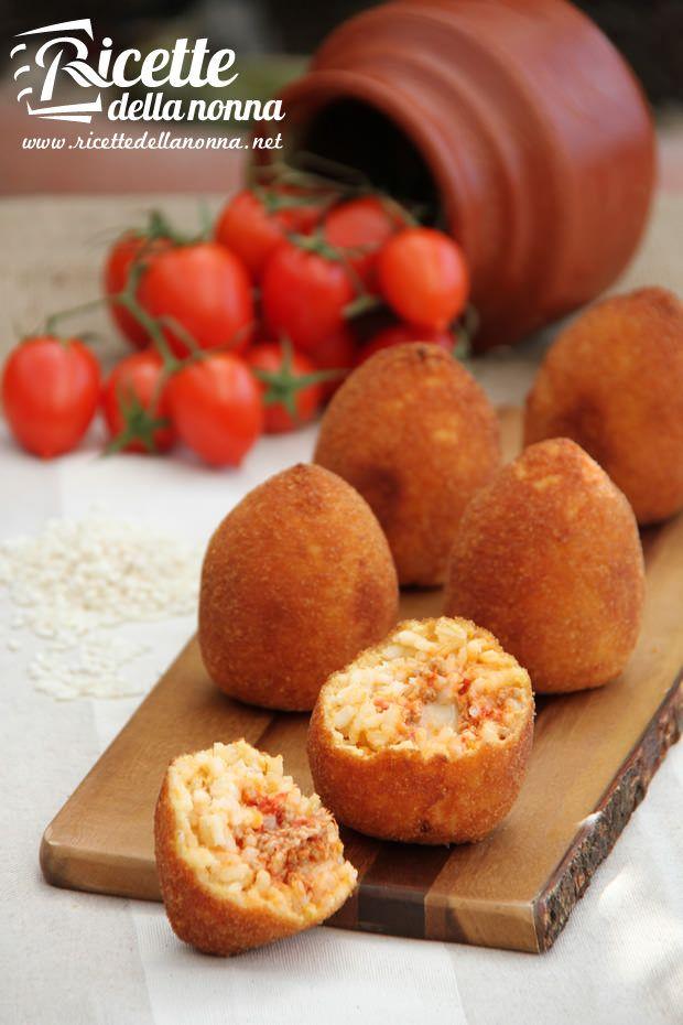 Sizilianische arancini Reis