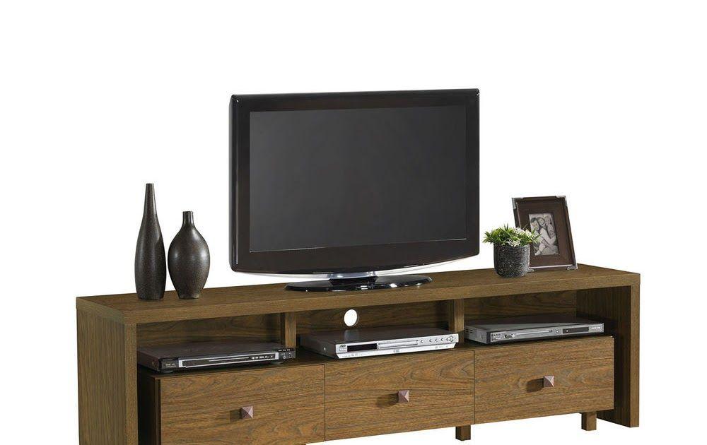 Beau Modern TV Stand Entertainment Media Center Home Theater Console Furniture  Walnut