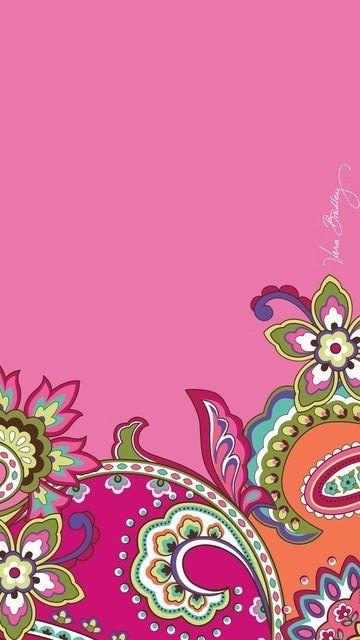vera bradley iphone wallpaper  Pink Swirls Vera Bradley | Everyday Wallpaper | Pinterest | Vera ...