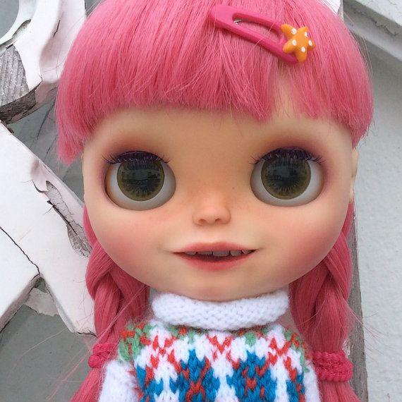 Muñecas Modelo Y Accesorios Blythe Doll Banochita Custom Original