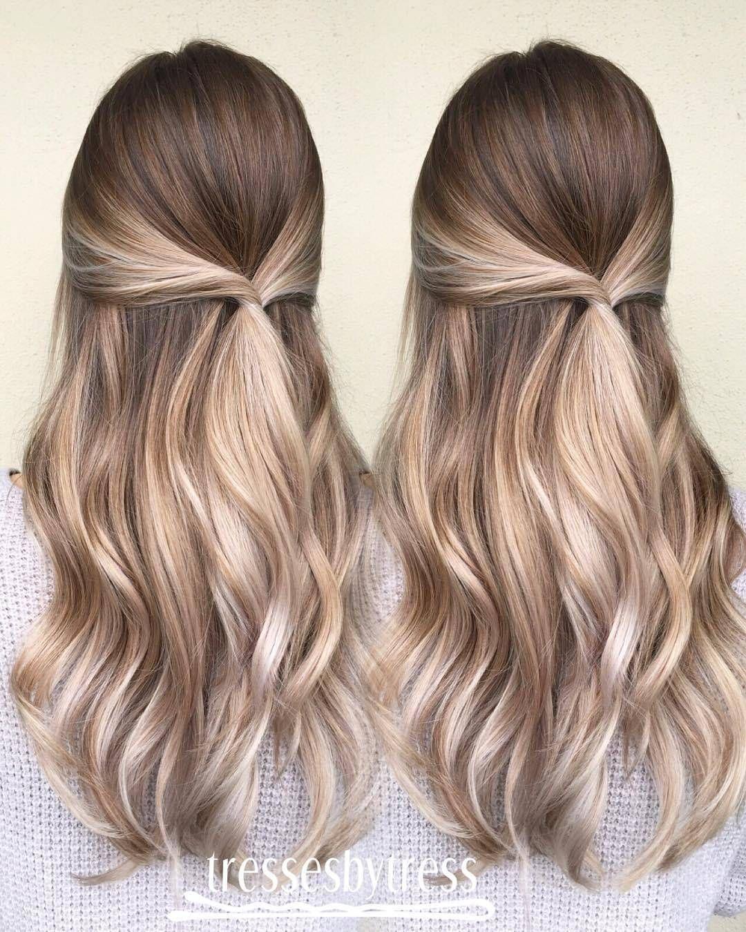 blonde brown caramel balayage haarfarbe ideen die sie nicht verpassen sollten frisuren. Black Bedroom Furniture Sets. Home Design Ideas