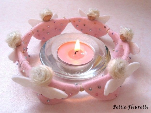 Photo of Christmas Decorations – Tealight Show Angel Show – a unique product by Petite-Fle …