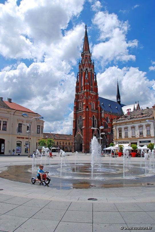 Osijek croatia Croacia, Zagreb, Viajes