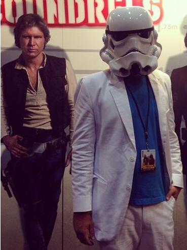 . . . if Don Johnson wanted to be a Stormtrooper - Lucas would have to change the dress-code for these bad boys of the Empire.