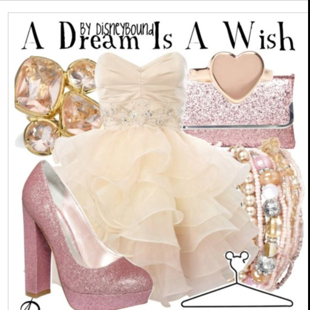 A Dream Is A Wish Your Heart Makes! Disney Bound