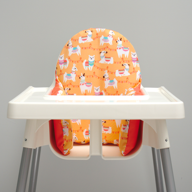 Tremendous Llama Ikea Highchair Cushion Cover Omg So Cute Etsy Alphanode Cool Chair Designs And Ideas Alphanodeonline