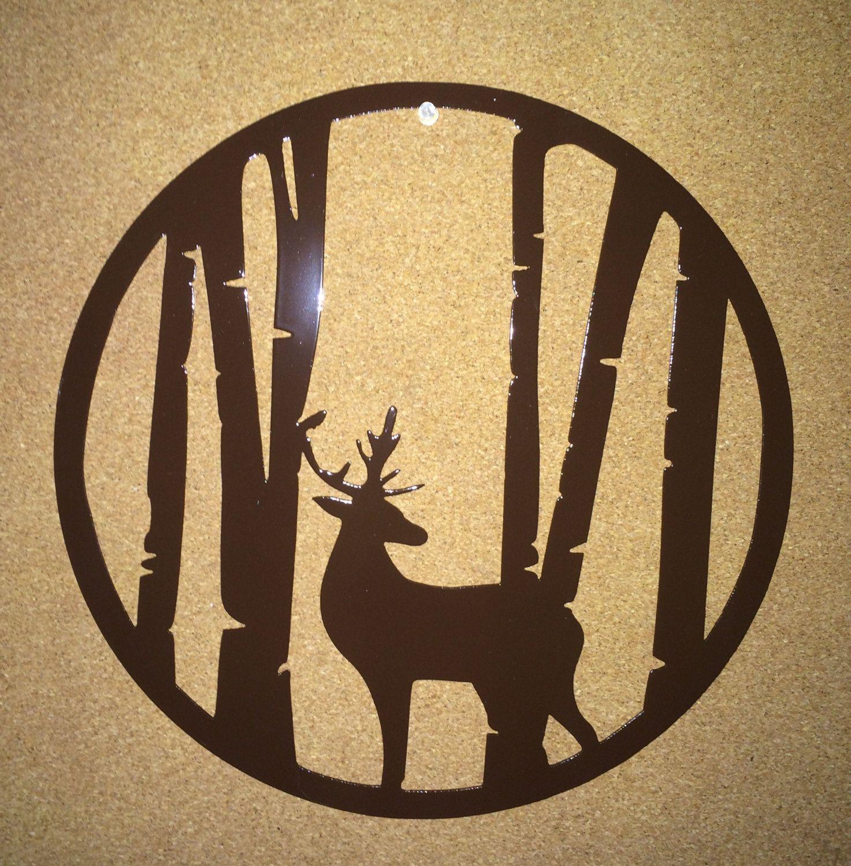 Deer in Trees - 14\