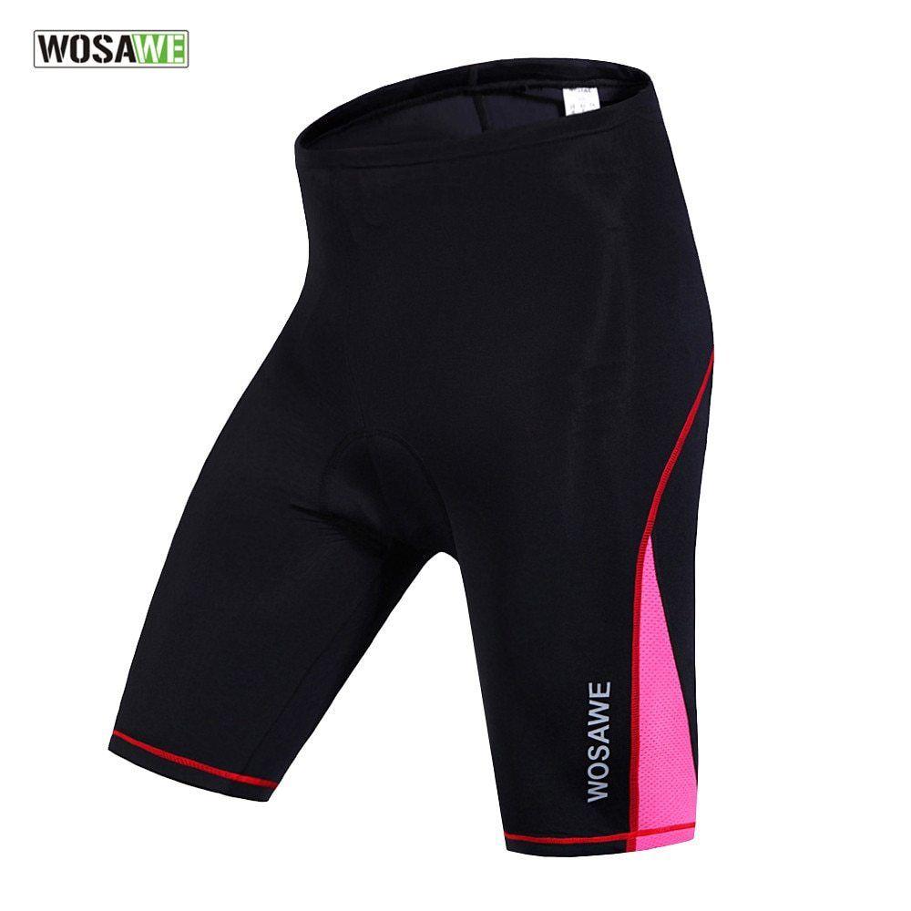 Ladies Cycling Shorts Gel Padded MTB Bike Riding Sports Half Short Pants Summer