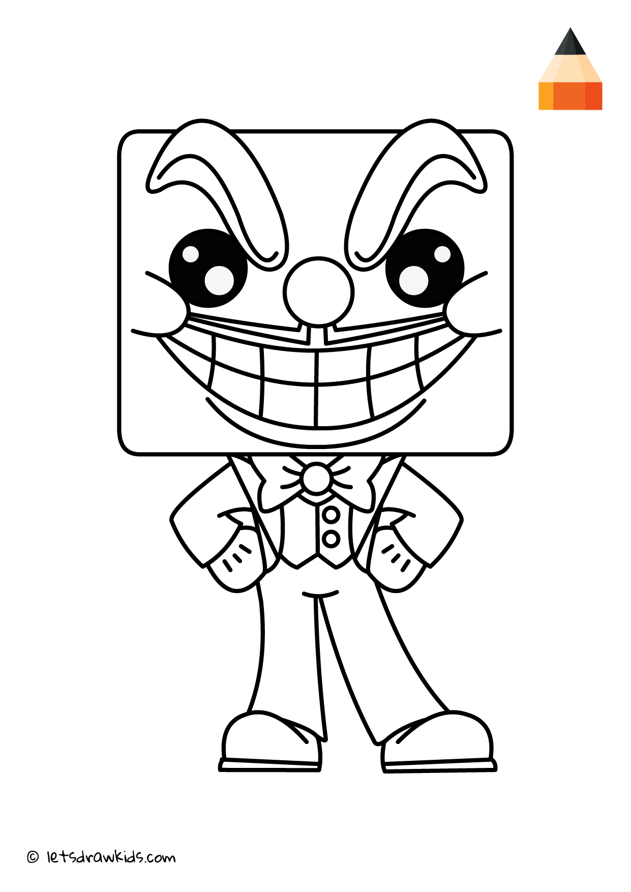 Coloring Page - King Dice Chibi  Grinch coloring pages, Cartoon