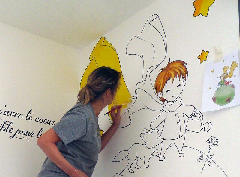 Décoration fresque le petit prince | Le petit prince | Pinterest