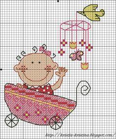 Схемы вышивки крестом мой ребенок 768