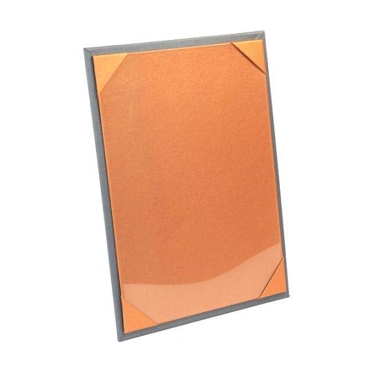 Buckram Menu Boards - Smart Hospitality Restaurant Products - Orange
