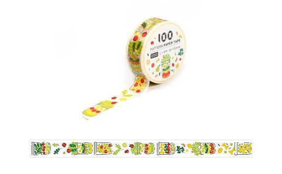 Masking Tape / Washi Tape / Deco Tape - 15mm - Salad Jar | Washi