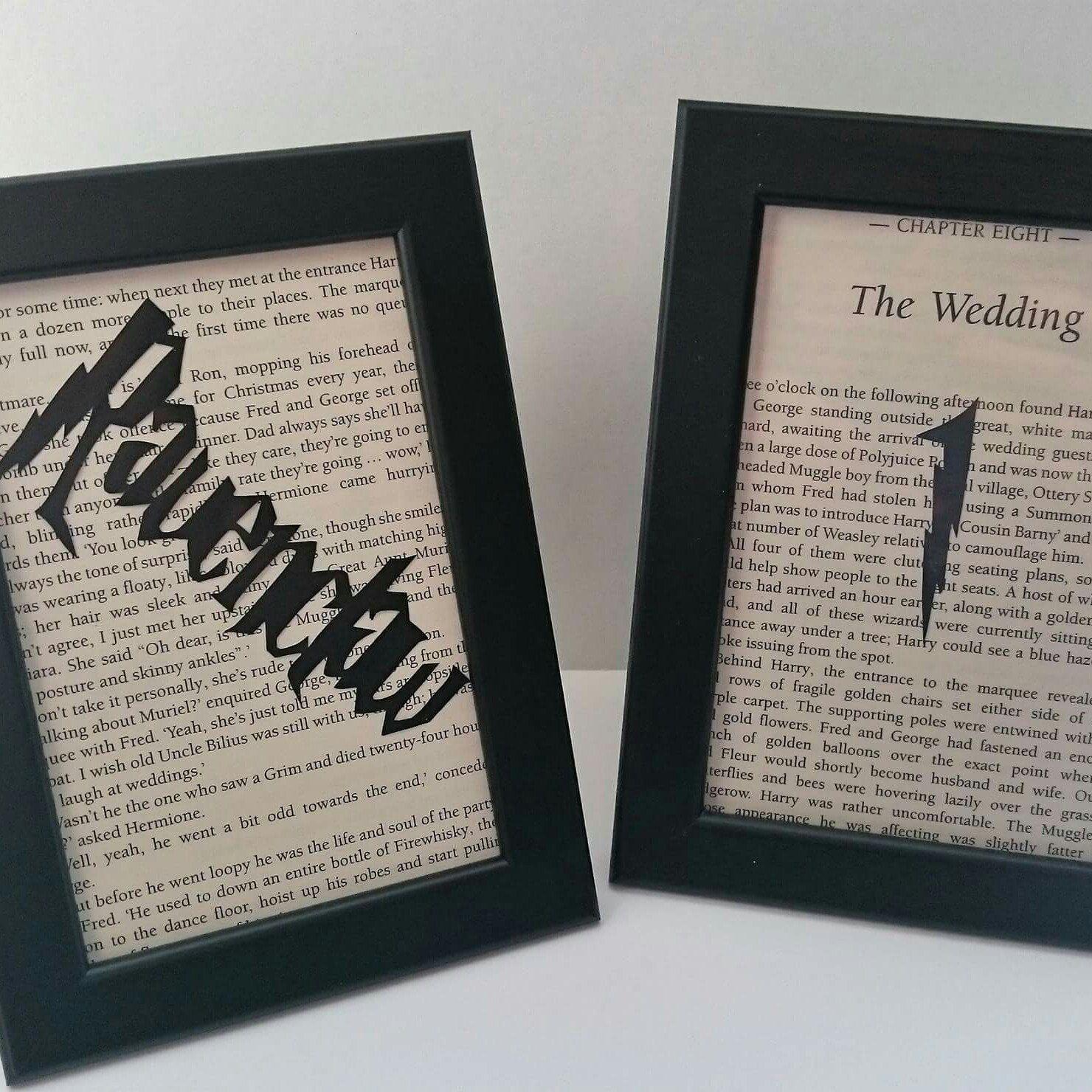 Harry Potter Wedding Decor Table Names Reception Hogwarts Inspired Themed