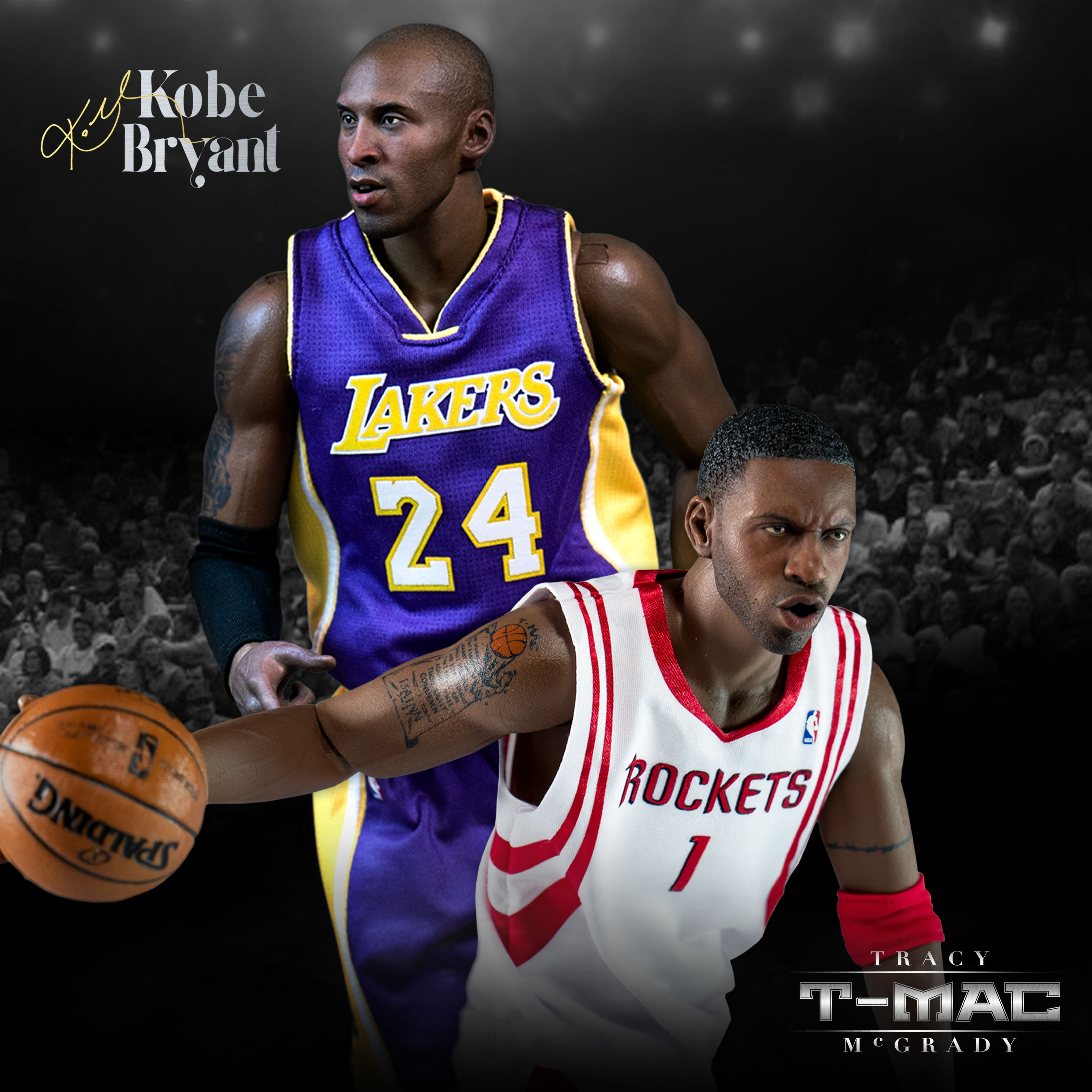 c95fb2566317 www.enterbay.com  nba  nbafigure  ENTERBAY  NBA  figure  figurine   TracyMcgrady  TMac  Kobe  kobebryant  rockets  lakers