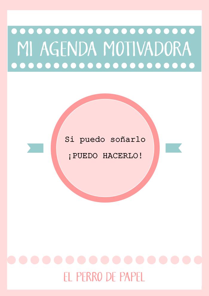 Agenda Motivadora Imprimible 2014-2015 | imprimibles | Pinterest ...