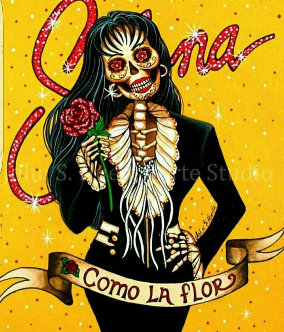 Selena art, Dia de los Muertos   Selena Quintanilla in 2018 ...