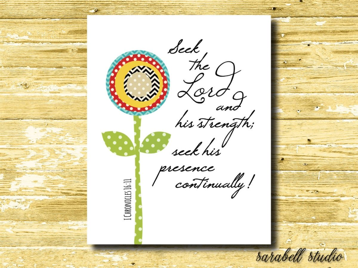 Etsy printable word art by Sarabell Studio, I Corinthians 16:11 ...