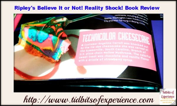 Ripley's Believe It or Not Reality Shock Book Review  - http://www.tidbitsofexperience.com/ripleys-believe-it-or-not-reality-shock-book-review/ book reviews