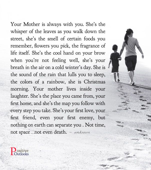 Your Mother Is Always With You (With images) Mother