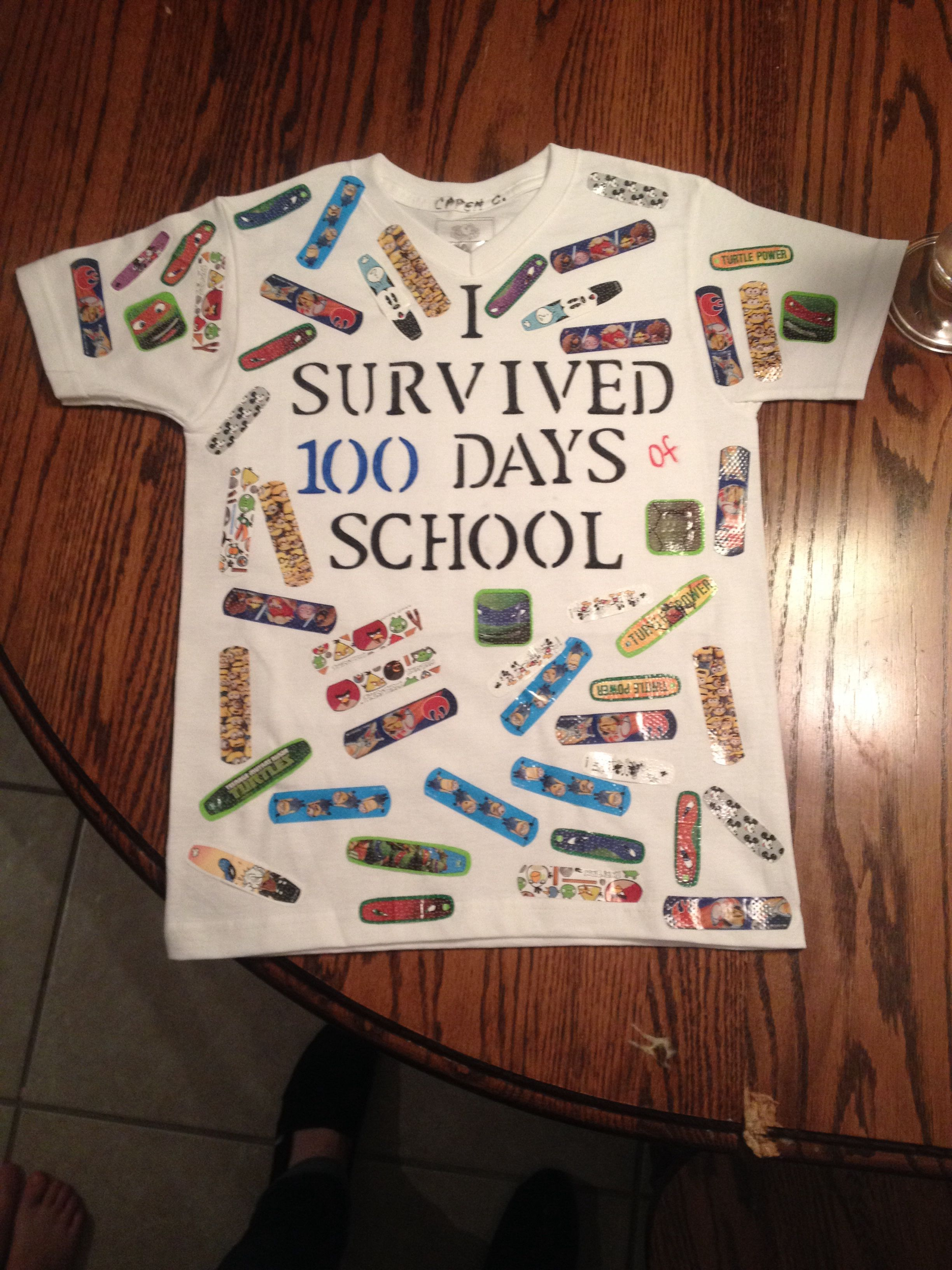 100 Days Of School Tshirt 100 Day Of School Project 100days Of