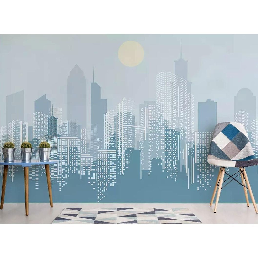 Overstock Com Online Shopping Bedding Furniture Electronics Jewelry Clothing More In 2021 Landscape Wall Art City Wallpaper Cityscape Mural