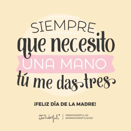 Feliz Día De La Madre By Mr Wonderful Frases Para