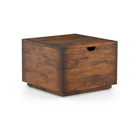 Parkview Reclaimed Wood Storage Coffee Table Furniture Coffee