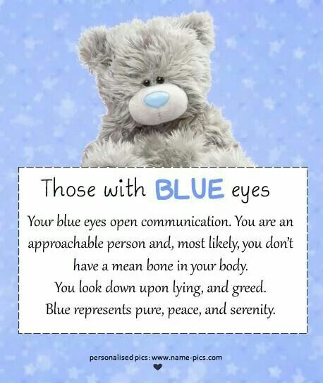 This even has my name in it 😂🤦   ______   Blue eye facts, Eye