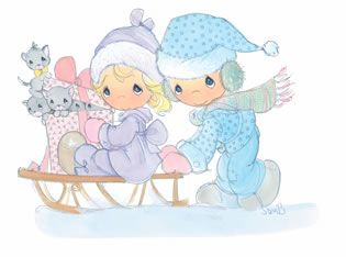 precious moments winter | We hope you enjoyed these Precious ...