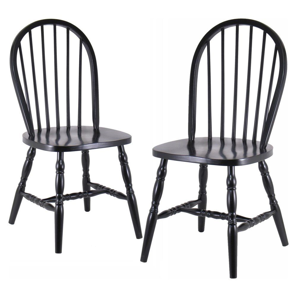 Wooden chairs design classics - Contemporary Dining Chairs In Black Design Inspiration Beautiful Black Rubber Wood Frame Classic Carolina Cottage