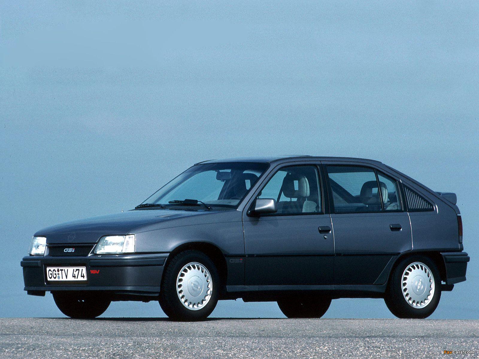 1988 Opel Kadett E Gsi 16v