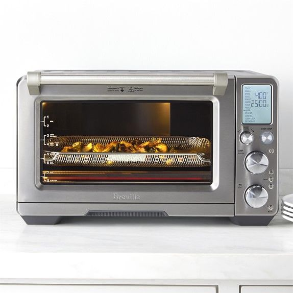 Breville Smart Oven Air Exclusive To Williams Sonoma Smart Oven Outdoor Kitchen Appliances Outdoor Kitchen