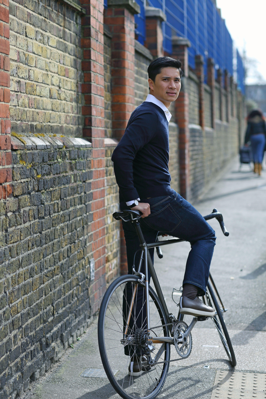Quoc Pham Urbanite chaussures pour le cyclisme Mi Marron Noir Et Tan