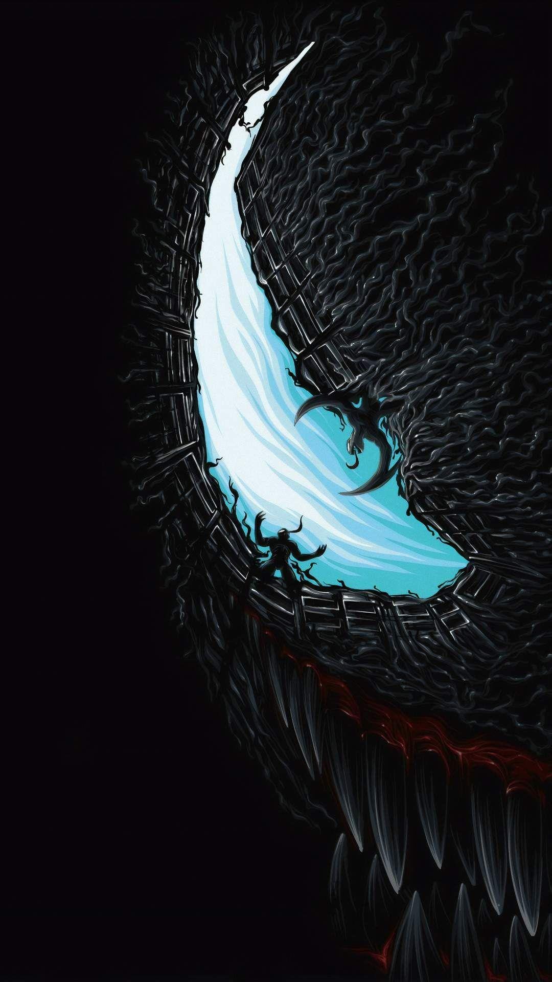 Venom Movie Artwork iPhone Wallpaper Venom movie, Marvel