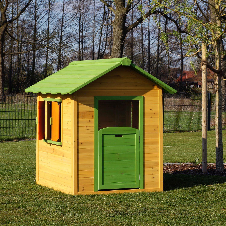Kinderspielhaus kleines Gartenhaus aus Holz Spielhaus für