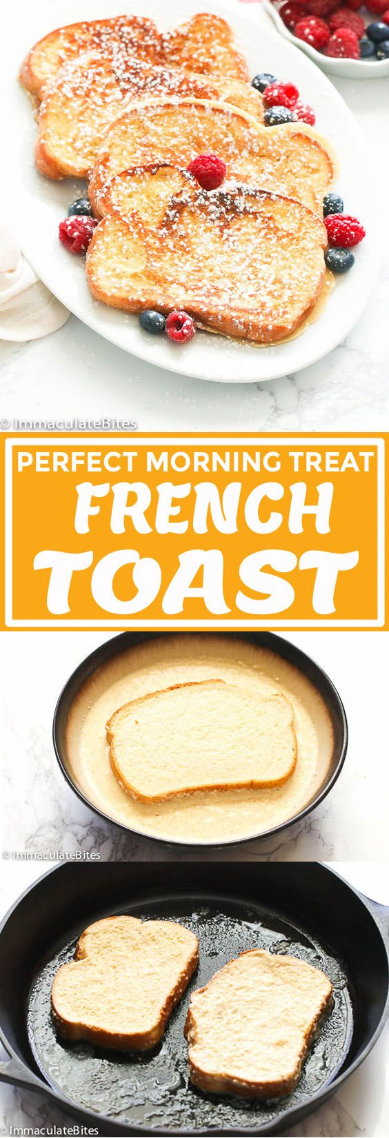 Photo of French Toast Recipe – Immaculate Bites