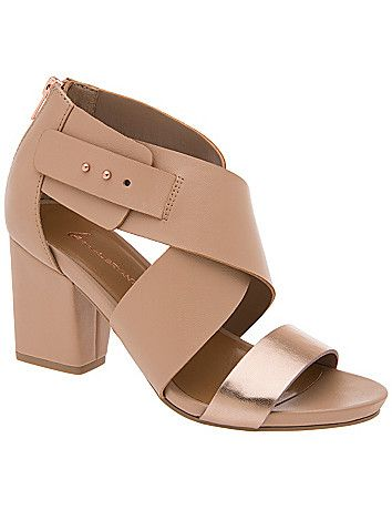 Lane Bryant   City sandals, Stacked