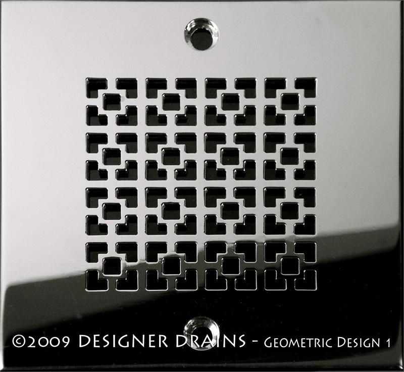 Geometric Squares No 1 With Images Shower Drains Complete