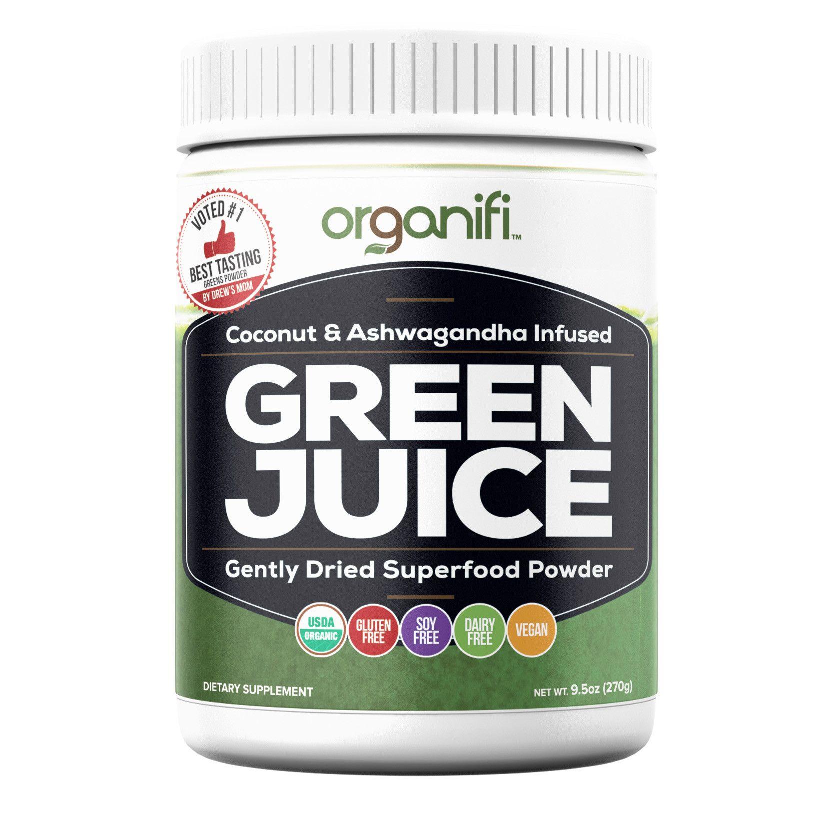 Organifi Go 1 Box 30 Go Packs Organifi Green Juice Green Juice Detox Organifi