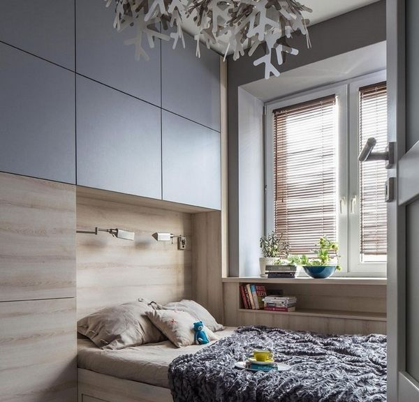 small bedroom furnishing ideas gray wall cabinets | Bed Linen Best ...