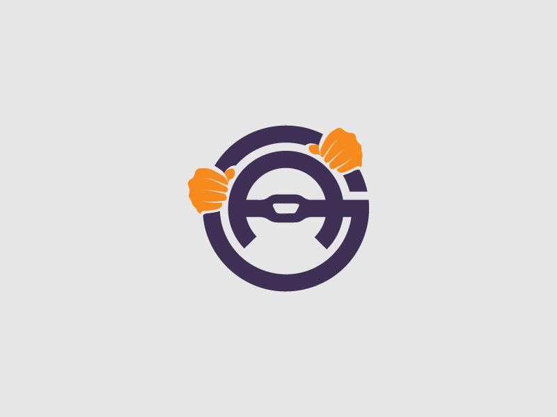 Gari Adda Urdu Car Rental Logo Design Initials G A Car Logo Design Car Logos Logo Design